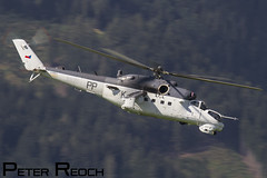 3370 / Czech Air Force / Mil-24V Hind (Peter Reoch Photography) Tags: czech air force republic mil24 hind attack gunship helicopter zeltweg austrian armed forces show display airshow airpower16 austria