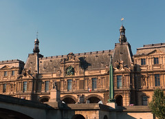 Paris from the Seine (Grangeburn) Tags: louver louvermuseum paris architecture geotagged seine riverseine france outdoors buildings frencharchitecture