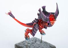 Tyranid Prime: Hooves and tail (Will Vale) Tags: 28mm 40k tyranidprime scifi tyranid gamesworkshop tyranidwarrior tyranids wh40k