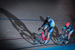 FrodayNightRacing1509-6044 (Edster951) Tags: velodrome trackcycling keiran sprint elimination scratch strobe nikon rearcurtain cls