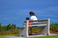 Chat (Jorge Hamilton) Tags: california los angeles santa monica san diego miniatura praia beach sun sol cliffs shores jorgehamilton brandao brando flickr photo foto fotografia photography