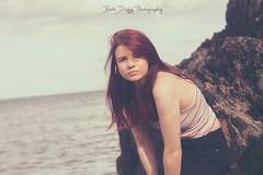 Chlo (elizabethanneduffy) Tags: people portrait world irish beautiful pretty longhair redhead ireland earth water ocean sea rock sand sky nature outdoors beach woman
