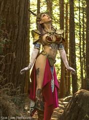 Carly 'Slave Zelda' (SeanLaine) Tags: slave zelda leia star wars legend loz twilight princess crossplay cosplay mashup mash up cross