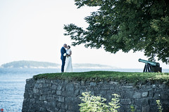 Mette and Espen 2 (HrNes) Tags: instagram festning kristiansand bryllup bryllupsbilde bryllupsfotograf wedding weddingphotographer people kjrlighet love nikon d750 nikond750 naturallight weddingphoto