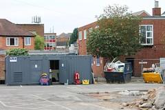 Vintage Grimace Litter Bin from the 1980's McDonald's Major Refurbishment Rebuild Melton Mowbray Leicestershire (@oakhamuk) Tags: mcdonalds major refurbishment rebuild melton mowbray leicestershire httpmartinbrookesblogspotcouk201609mcdonaldsmajorrefurbishmentrebuildhtml