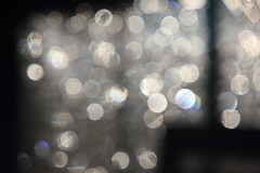 It Rained, Comes the Sun (Sacker Foto) Tags: bokeh prism rainbow sphere spherical drop droplets rain window screen effectsofblur blurry abstract planetary solar afterthestorm tamron28mmf25bbarmc tamronadaptall228mmf25 manual focus lens canoneos60d
