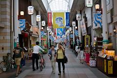 Shopping Street (Mondmann) Tags: shoppingstreet fukuoka japan asia eastasia shopping pedestrians japanese kyushu mondmann nikond7100
