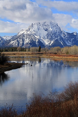 The Giant (kerch) Tags: reflection wyoming grandtetonnationalpark oxbowbend mtmoran