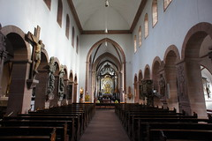 Aschaffenburg church interior