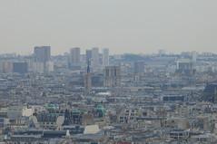 Paris From Basilique du Sacr-Cur (eyair) Tags: paris france du rpublique basilique sacrcur rpubliquefranaise franaise basiliquedusacrcur ashmashashmash