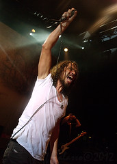 Soundgarden's Chris Cornell gets primal at Shepherd's Bush Empire 9 November (Mister J Photography) Tags: england london concert live empire shepherdsbush 2012 soundgarden chriscornell mattcameron 9november benshepherd kimthayil lastfm:event=3416385
