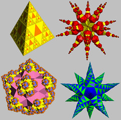 Polyhedral Fractals (Stella4D) Tags: geometry math mathematics fractal maths polyhedron polyhedra