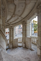 Spiral staircase, Château Royal de Blois (stshank) Tags: blois châteauroyaldeblois france chateau spiral stairs travel