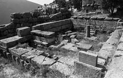 Roll 39 - Delphi, Greece - Nikon FM2-409 (.:Josh:.) Tags: film oracle honeymoon 28mm delphi 150 greece rodinal nikonfm2 theoracle roll38 autaut kodakplusx125 rodinal15013min theoracleatdelphi nikon28mm28f