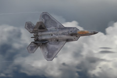 F22A Raptor (glenhaas309) Tags: fighter airshow raptor stealth f22 usaf usairforce nellisafb aviationnation