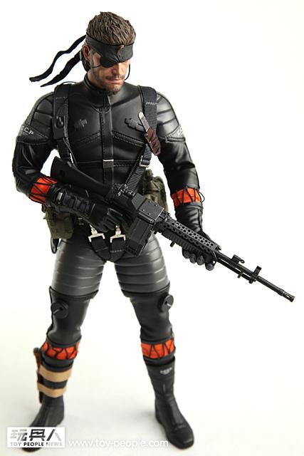 Hot Toys VGM15 - 潛龍諜影3:食蛇者 - 裸蛇(潛行服版)開箱報告