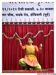 Happy Diwali 2012 - Kathak (Raman_Rambo) Tags: road india happy dance celebration celebrations ganesh program diwali cultural mandir ganapati shubh 2012 deepavali marathi mudra kathak lavani phadke ganeshmandir dombivli maharashatra happydiwali lavni maharastrian kalaniketan lejhim phadkeroad dombivlikar shreemudrakalaneeketan kalaneeketan