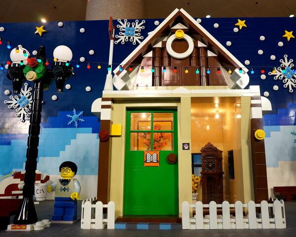 香港時代廣場 LEGO®聖誕村 正式開幕多張照片