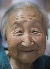 94 Years of Wrinkles (Daniel Smukalla) Tags: 50mm cu raw grandmother sony gap korea korean southkorea wrinkles generation greatgrandmother koreanwar interviewee generationgap japaneseoccupation a99 chungcheongnamdo sal50f14  sal50  imagedataconverter  sedaechai sonya99 sedahechai cheongyanggun