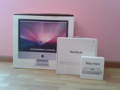 Que nerd (ooscarr) Tags: apple mac imac box macmini boxes macbook flickrandroidapp:filter=none