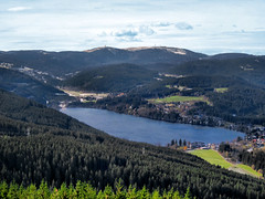 Titisee - Blick vom Hochfirst (mike_tec) Tags: schwarzwald blackforest titisee