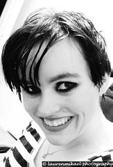 I'm Back (Lauren Mikael Photography) Tags: portrait blackandwhite selfportrait monochrome canon hair rebel eyes pixie 1855mm eyeliner selfie pixiehaircut pixiehair t1i laurenmikael