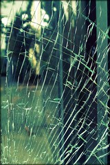 shattered dream (lucymagoo_images) Tags: abstract texture broken window glass pen vintage lomo pattern artistic bokeh olympus retro through toned tones shatttered epl1 lucymagoo lucymagooimages