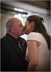 Kiss (Photography from the soul) Tags: uk wedding colour scotland october martin stirling events marriage website mags 2012 magsandmartinwedding