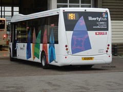 Testing time (Coco the Jerzee Busman) Tags: uk islands ct solo jersey plus channel optare libertybus