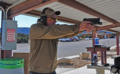 Range M&P9FS (Eric Holmes) Tags: utah gun target sw shooting range 9mm firearm mp9