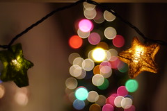 star (jo santi) Tags: christmas lens 50mm lights star nikon holidays bokeh ornament e series parol 1850mm gh2