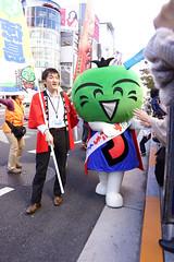 DSC04290.jpg (ntstnori) Tags: street tokyo ginza character staff  chuo 2012 yuruchara