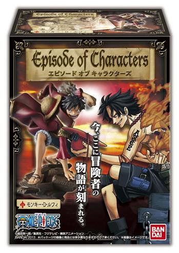海賊王新食玩系列Episode of Characters