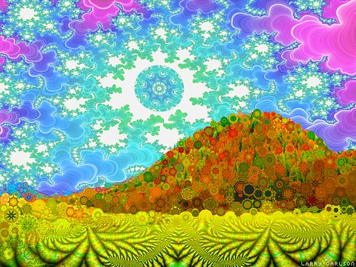 LARRY CARLSON, Electrix Sunshine, 2006.