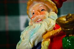 Santa with bell (No Talent Bum) Tags: santa christmas xmas holiday bells nc nikon beards northcarolina greensboro santaclaus closeups greensboronorthcarolina nikond40x d40x