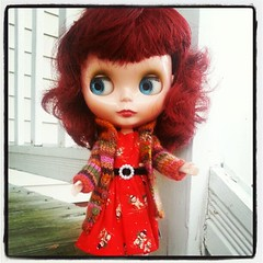 """Ruari says, """"Time to shop sundries on BK for new clothes. That's how I found this great HOP dress and Megipupu sweater."""""""