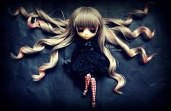 Pam [Prupate] (Dekki) Tags: fashion dark asian outfit doll pretty eyelashes pam pullip angelic cornice rewigged rechipped prupate