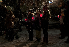 Carolling St. George's Square (Bruce Shapka) Tags: guelph carolling stgeorgessquare