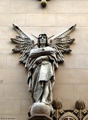 Angels (Rick & Bart) Tags: barcelona sculpture architecture angel larambla architectuur smrgsbord rickbart rickvink
