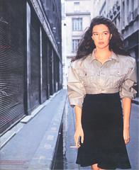 Jennifer Hall, 1987 (STUDIOZ7) Tags: uk england music woman english girl beauty fashion unitedkingdom cigarette album pop smoking teen cover lp singer record british smoker eighties 1980s britian warnerbros teenage 33rpm dancemusic jenniferhall jennifercaronhall
