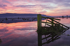 Sunrise (AGB Photography) Tags: old blue light red reflection water sunrise landscape nikon warm colours colourfull project52 d5000 agbphotography