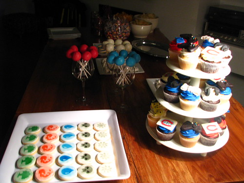30th birthday dessert display