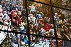 Stained Glass (jpellgen) Tags: christmas winter holiday minnesota museum nikon midwest december sweden minneapolis swedish institute nordic mansion tamron mn scandinavian 2012 asi 18200mm turnblad julmarknad d3100