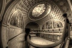 BoW urbex - La grande salle (FOCUS404) Tags: trip abandoned eos decay 7d fe exploration 8mm thtre urbex focus404