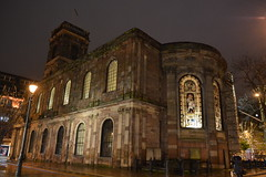 St Anne's Church, Manchester (-ToN photography-) Tags: church night square manchester streetlight streetlamp stannes