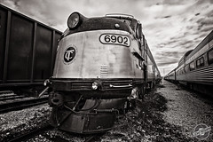 TC 6902 (CJ Schmit) Tags: railroad monochrome train canon nashville tennessee engine copper toned 6902 tcrm canonef1740mmf40lusm tennesseecentralrailwaymuseum 5dmarkii canon5dmarkii cjschmit emde8 wwwcjschmitcom niksilverefex2 cjschmitphotography tc6902