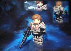 LEGO Halo 4 - Commander Sarah Palmer (MGF Customs/Reviews) Tags: crimson lego infinity chief 4 halo palmer master requiem majestic iv commander spartan the cortana forerunner fireteam unsc didact prometheans