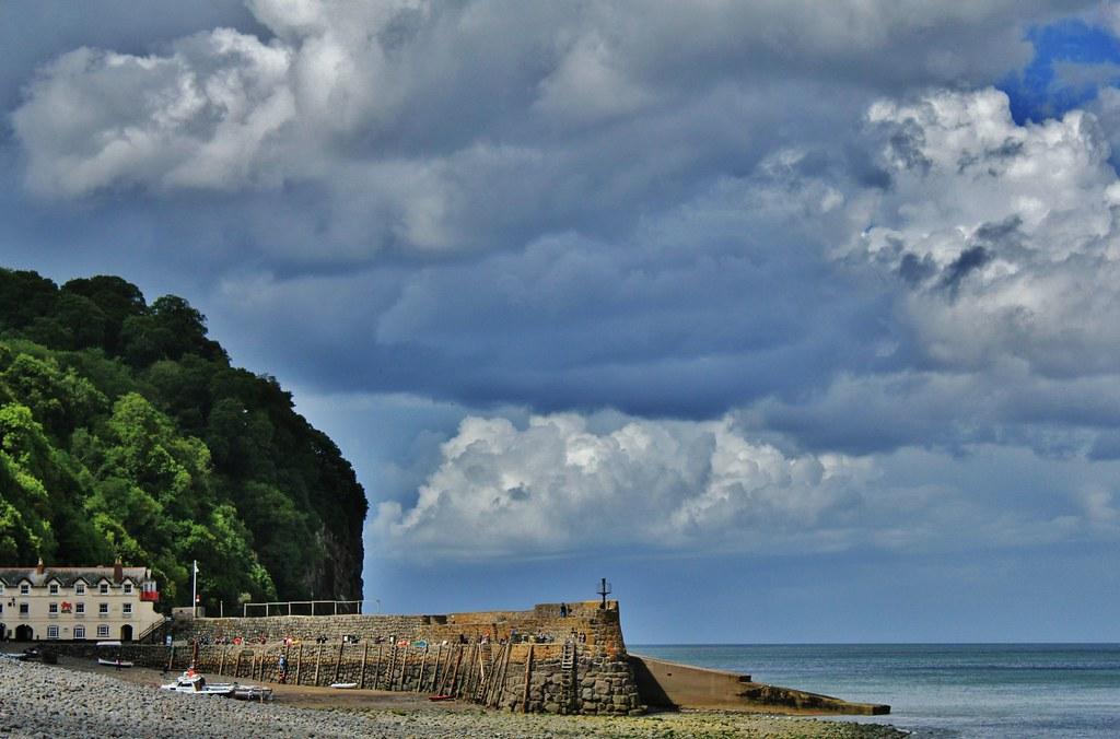 Clovelly Beach Has A Serene And Idyllic Atmosphere Devon