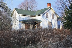 Evergreen Villa Nov 20 2011 (ontario photo connection) Tags: family ontario canada heritage abandoned home neglect durham transport over protest demolition historic vacant land waste derelict altona barclay settler pickering brougham landings