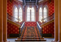 The Grand Staircase at St.Pancras hotel (bina20122012) Tags: stpancrashotel